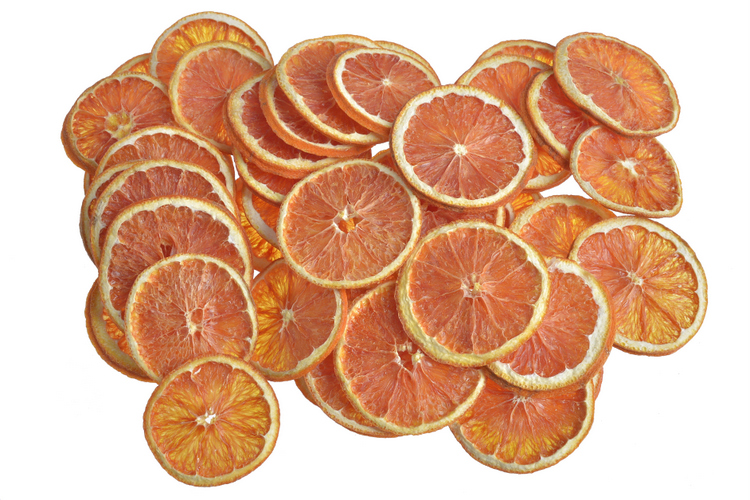 Ruby grapefruit sliced (pacz.200gr)-susz.rośliny