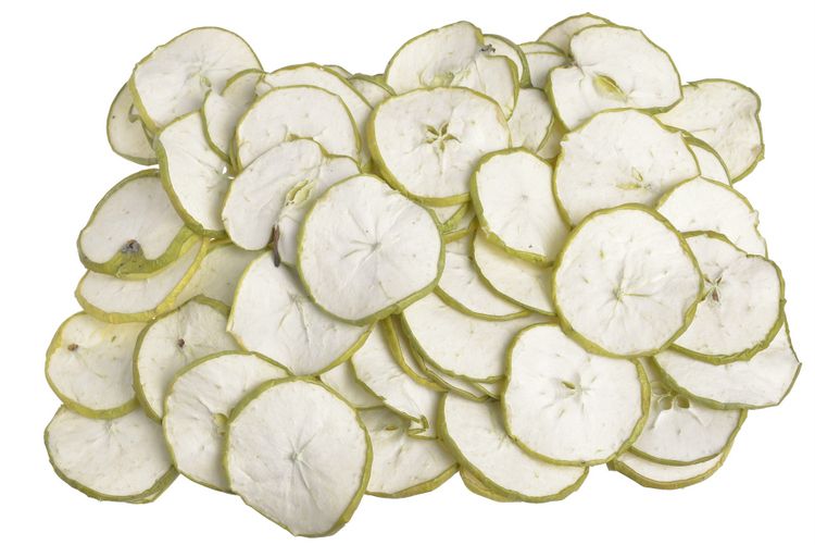 Apple sliced green -200g/pacz